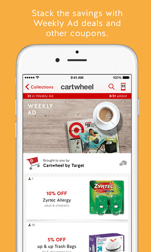 Mobile app development by Cartwheel