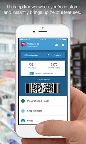 Mobile app development by Wallgreens