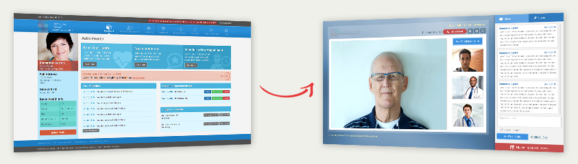 PatientDashboardtovideocalling